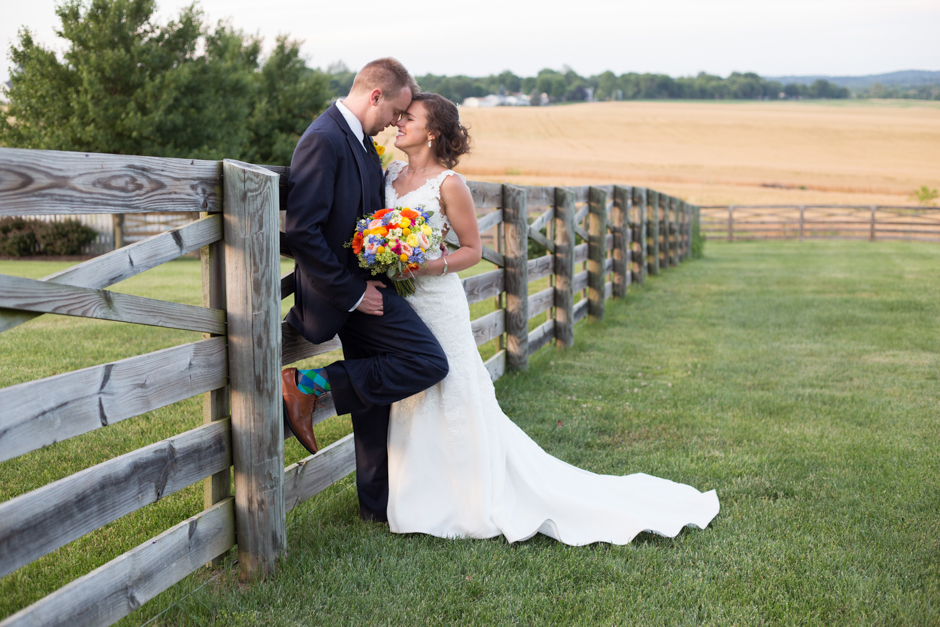 A classic and rustic yellow summer wedding at Walker
