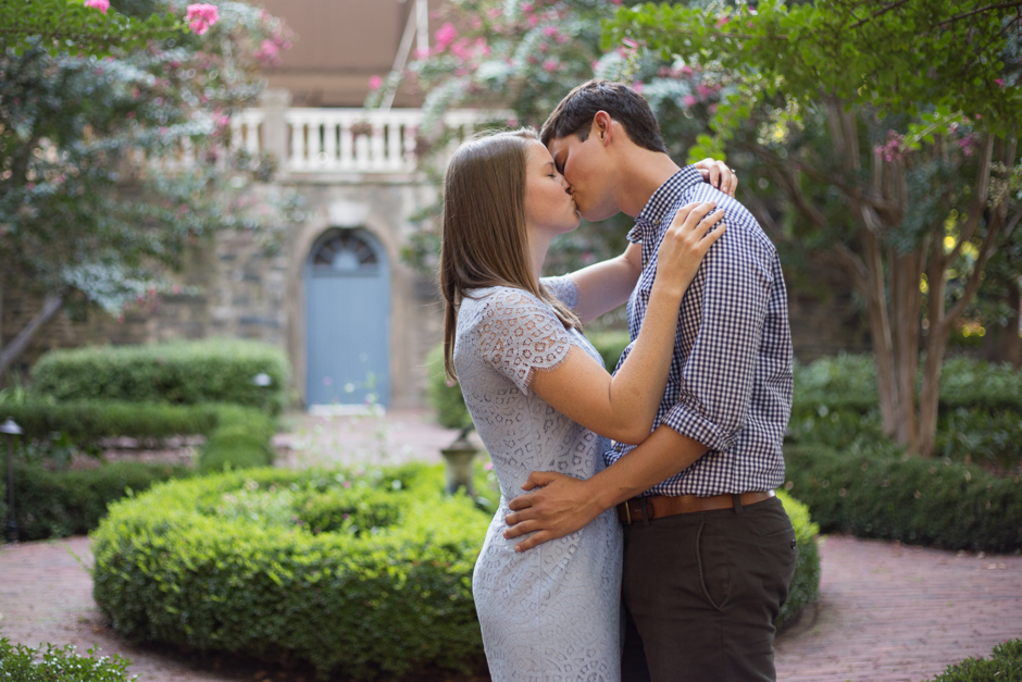 A classic Old Town Alexandria engagement session by wedding photographer Christa Rae Photography