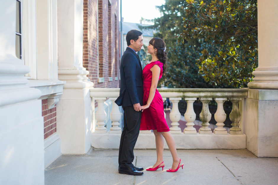 Downtown Annapolis engagement session by Maryland wedding photographer Christa Rae Photography