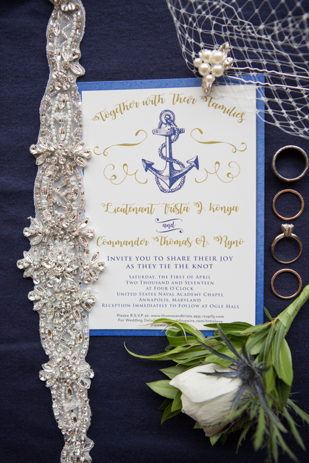 An elegant Naval Academy wedding in Annapolis with reception at Ogle Alumni Hall by Maryland wedding photographer Christa Rae Photography