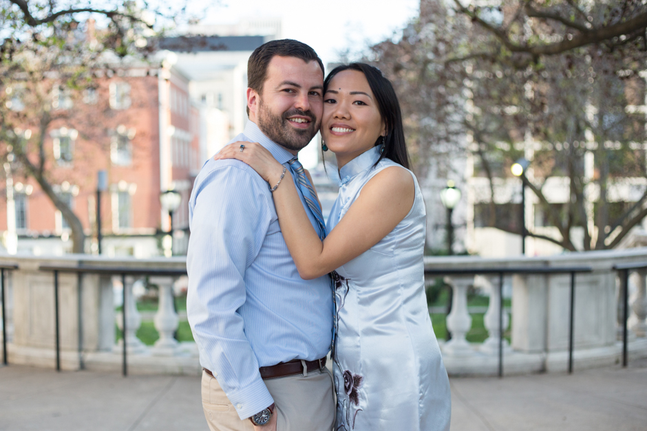 Engagement photos in Mount Vernon Baltimore by Maryland wedding photographer Christa Rae Photography