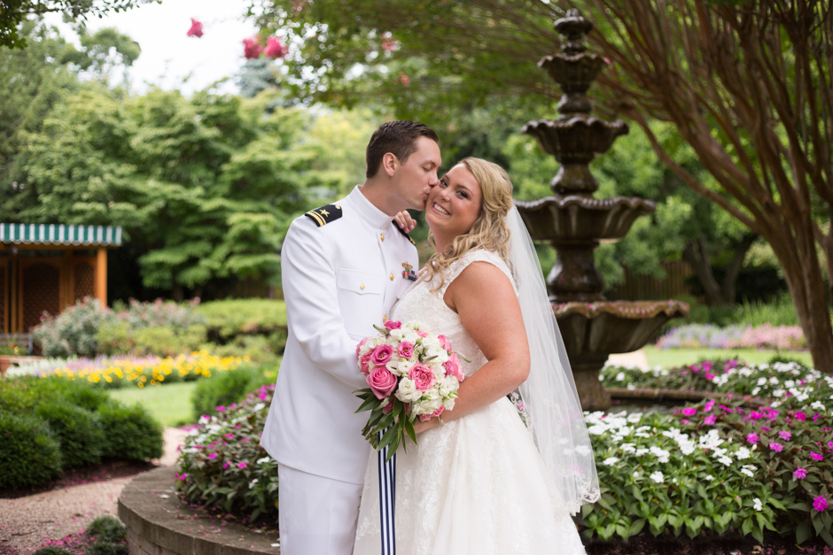 July Wedding at United States Naval Academy Chapel with Reception at Annapolis Maritime Museum by Maryland Wedding Photographer Christa Rae Photography