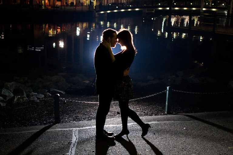 Couple Photography At Night