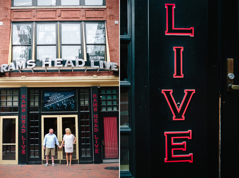 Baltimore engagement session chelsie gus christa rae for Nick s fish house baltimore md
