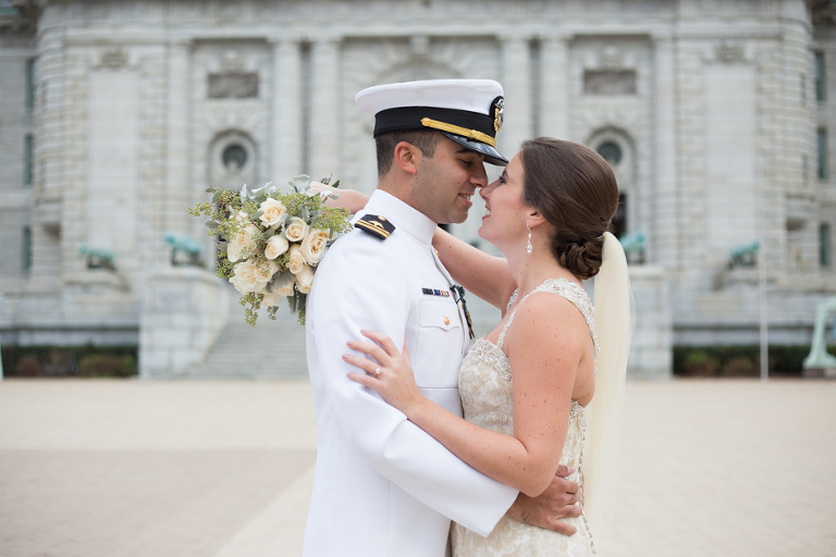 An Elegant Naval Academy Chapel Wedding In Annapolis Maryland By Photographer Christa Rae Photography