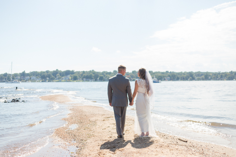 Gibson Island Maryland Wedding At St Christopher By The Sea And Boathouse Reception