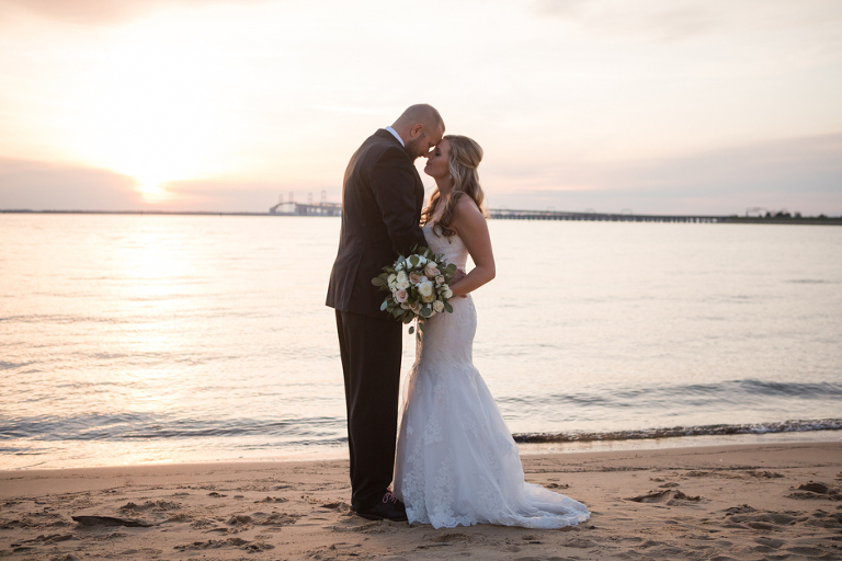 Spring Wedding At Chesapeake Bay Beach Club In Stevensville Maryland Photographed By Annapolis Photographer